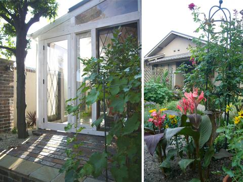 前庭と全景