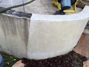 塗り壁 高圧洗浄