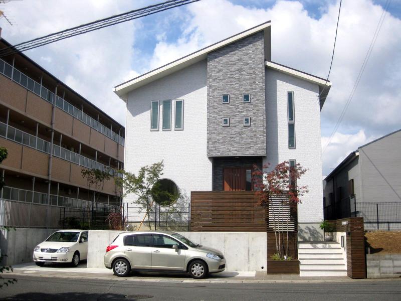 シンプルで爽やかな奈良県の外構工事