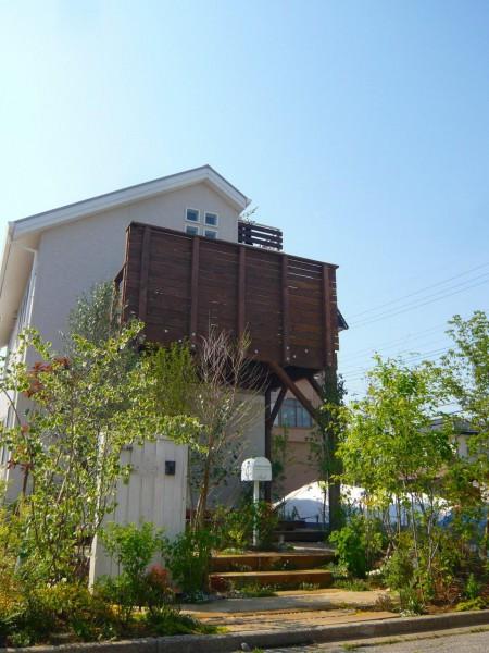 野田市「森へ」~2013春~お庭・ガーデン・オープンエクステリア外構