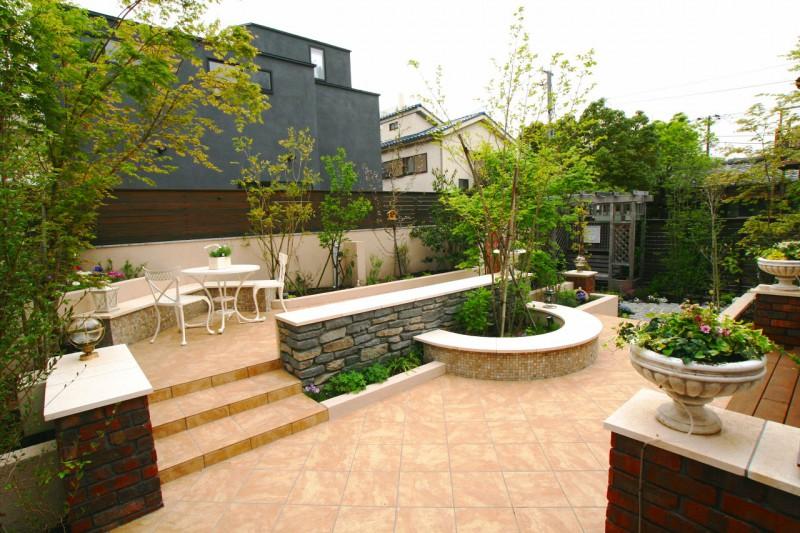 市川市の庭