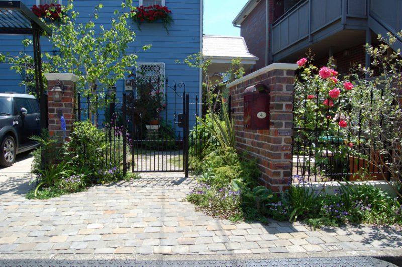 外構・お庭をおしゃれに演出する『世界にひとつだけの扉』 <br>施工エリア 柏市・流山市・松戸市