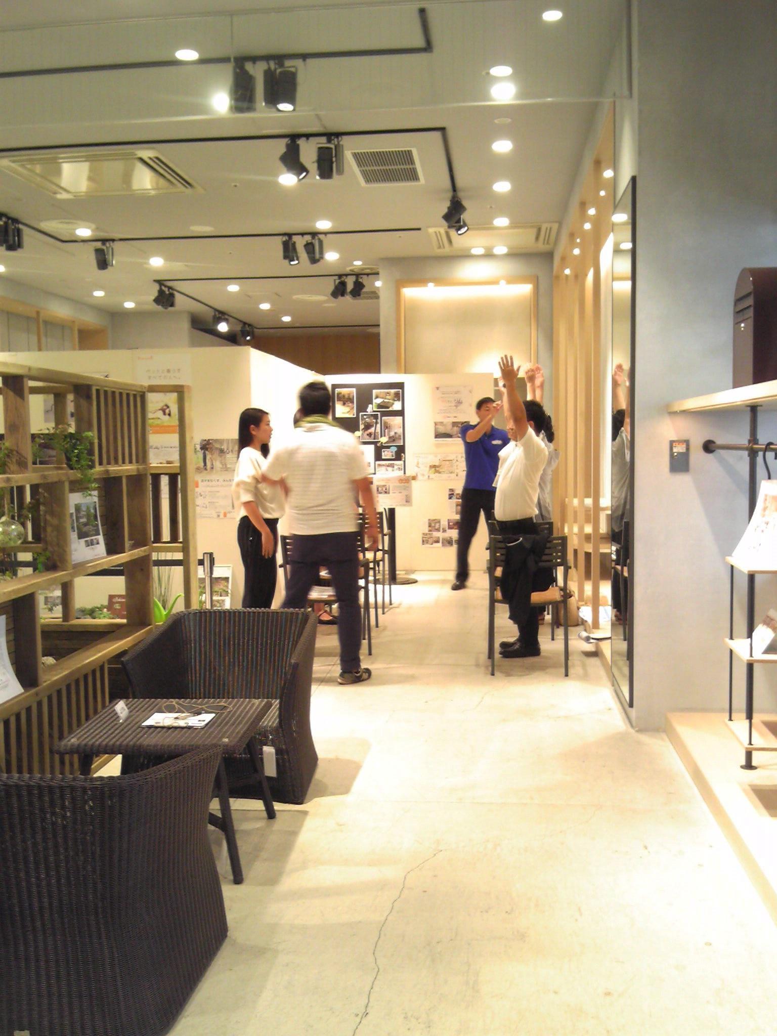 阪急モザイクモール港北特設イベント開催「庭と出会い~涼やかな暮らし」セントラルスポーツ講演