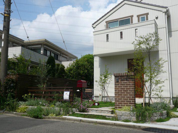 ザシーズン港北 横浜市青葉区でお庭の見学会