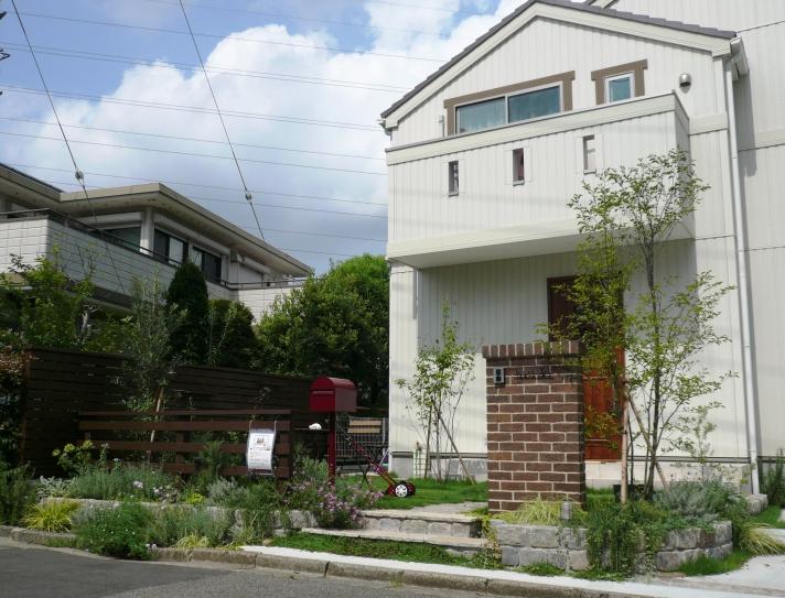 外構お庭(ガーデン、エクステリア)ザ・シーズン港北 横浜市青葉区 個別見学会
