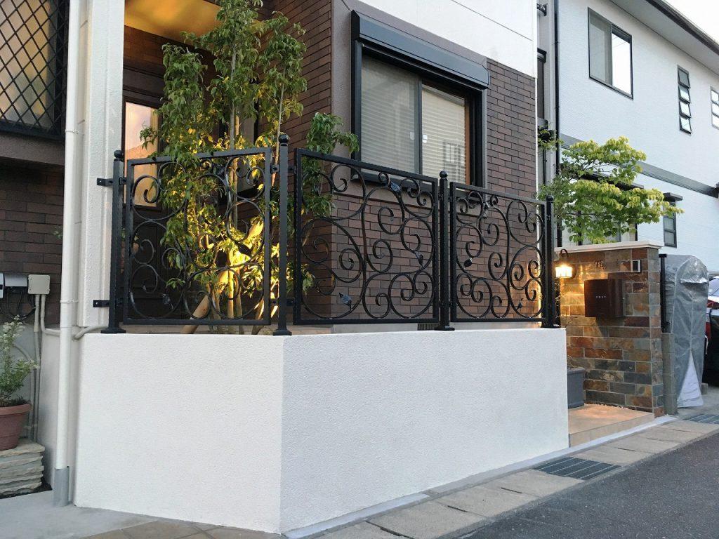 東郷町-オリジナルフェンス