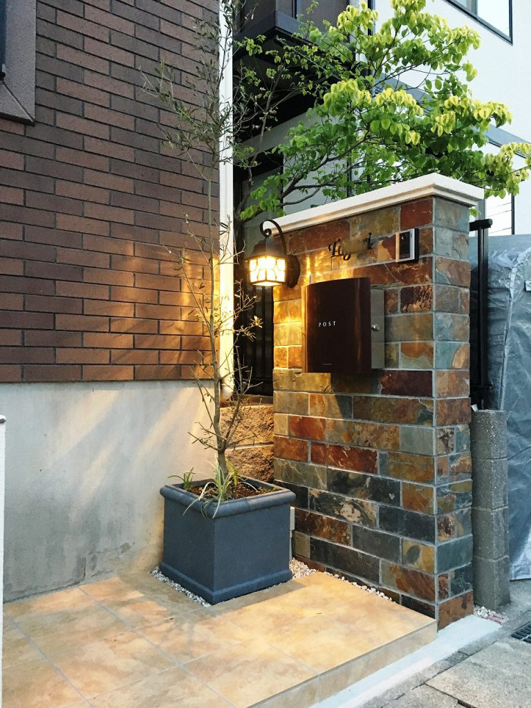 東郷町-門塀