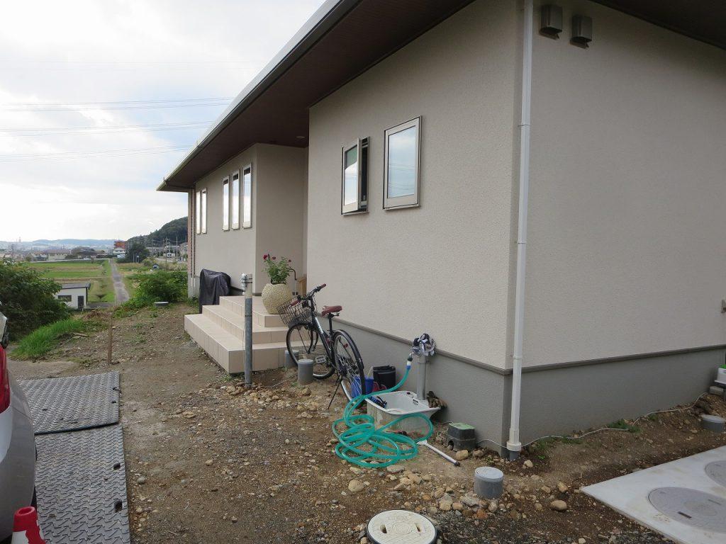 春日井市 外構 施工前
