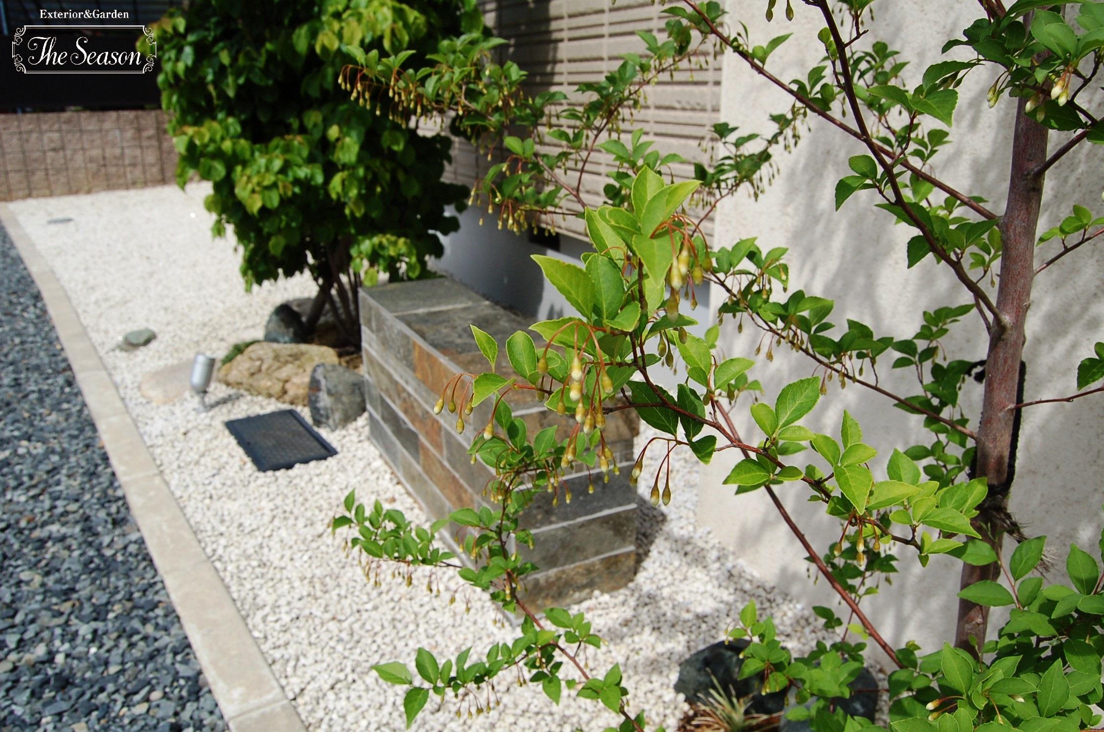 エゴノキの庭
