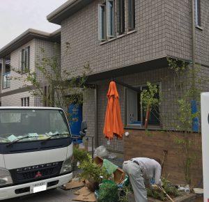 植栽 外構 新築 大阪