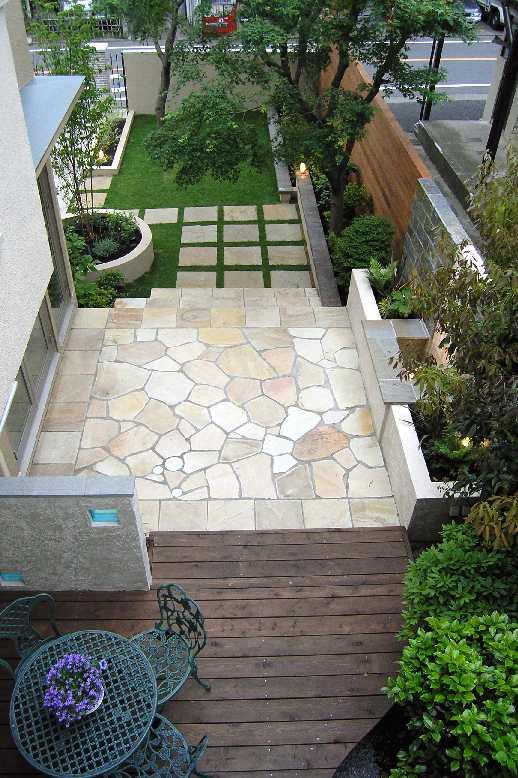 大田区上池台の外構エクステリアリフォーム&お庭ガーデンリフォーム