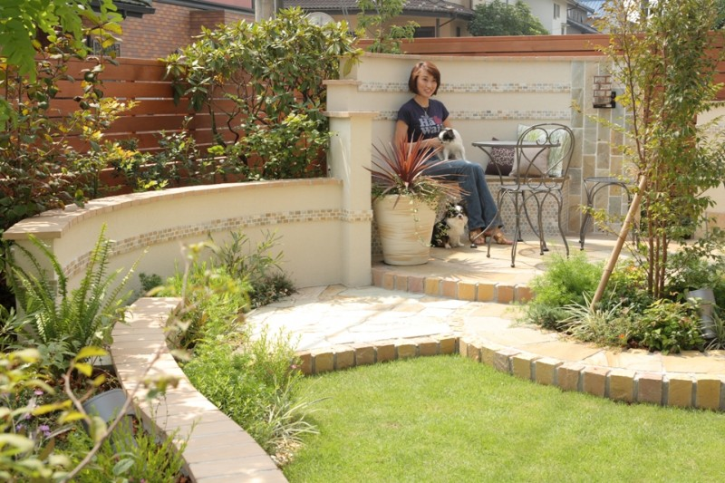 2008年 メイクランド設計施工コンクール ガーデン部門賞受賞 H様邸