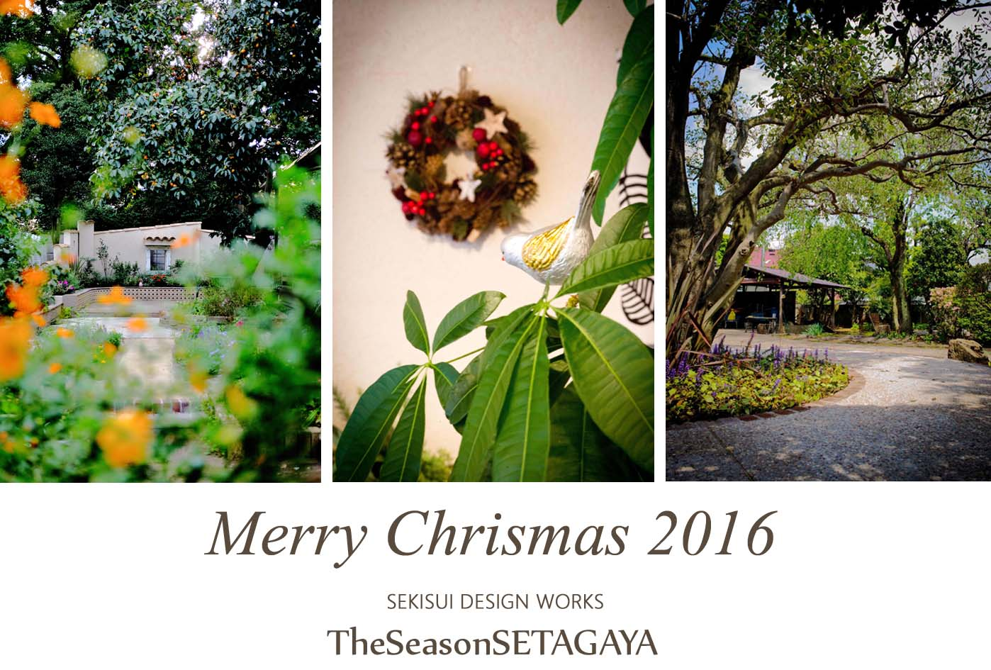 MerryChrismas2016 TheSeasonSETAGAYA
