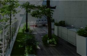 緑豊かな住宅地のシンボルとなる 上質な空間