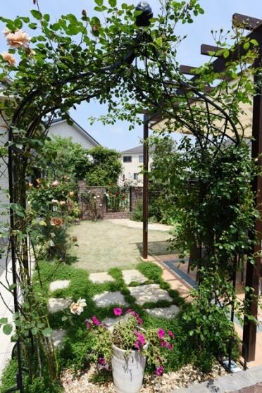 N様邸ガーデン