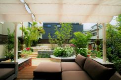 素敵なアウトドアリビング(お庭)空間O様邸