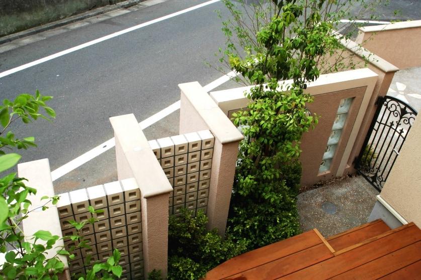 変形敷地に建つ二世帯住宅O様邸